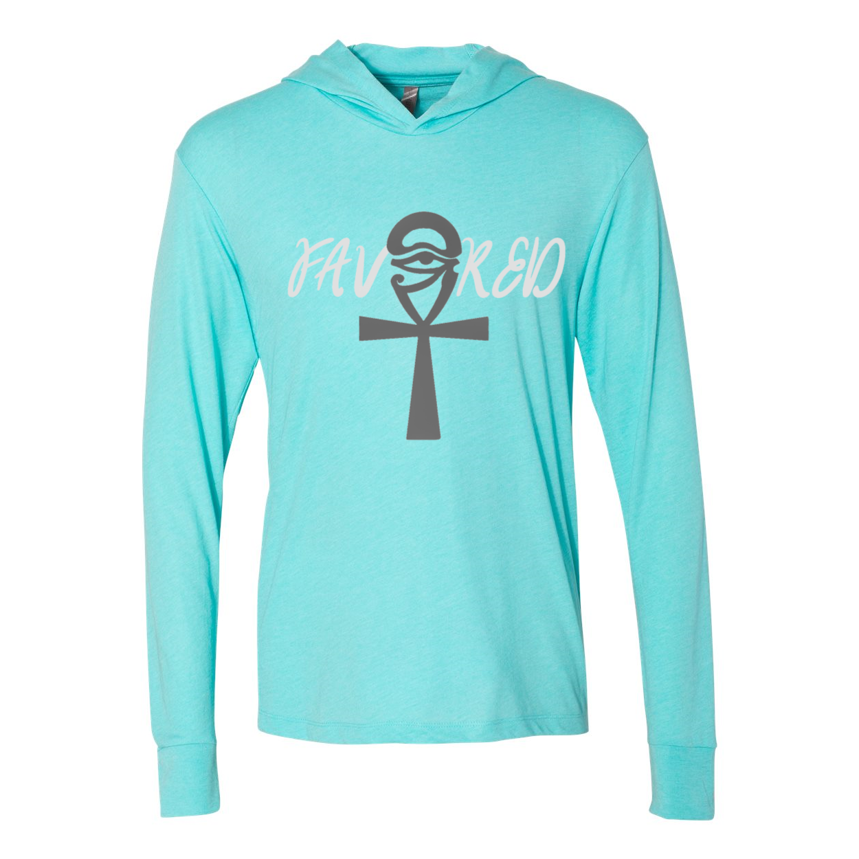 Favored Women's Triblend Hooded Tee - Tie-Fly
