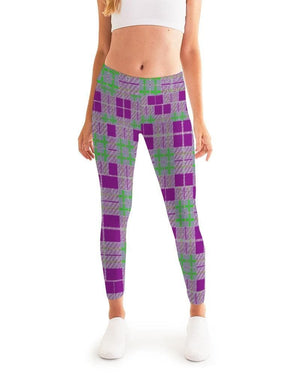 Tribute to Plaid Women's Yoga Pant - Tie-Fly