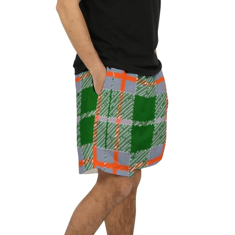 Tribute to Plaid Men's Swim Trunk - Tie-Fly