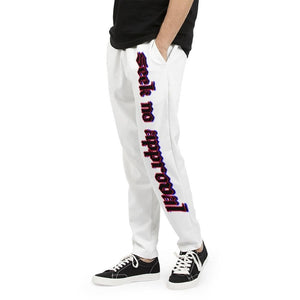 Seek No Approval   Men's Joggers, cloth -tie - fly