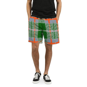 Tribute to Plaid Men's Swim Trunk, cloth -tie - fly