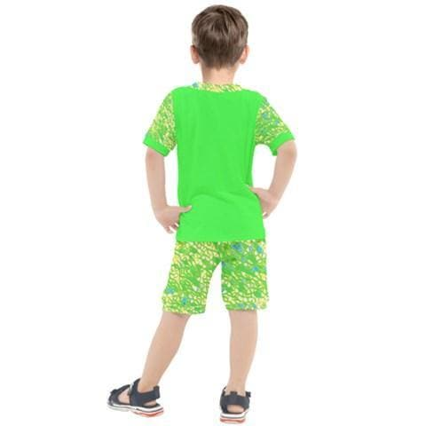 Royal Pallette Boys Tee & Short Set - Tie-Fly