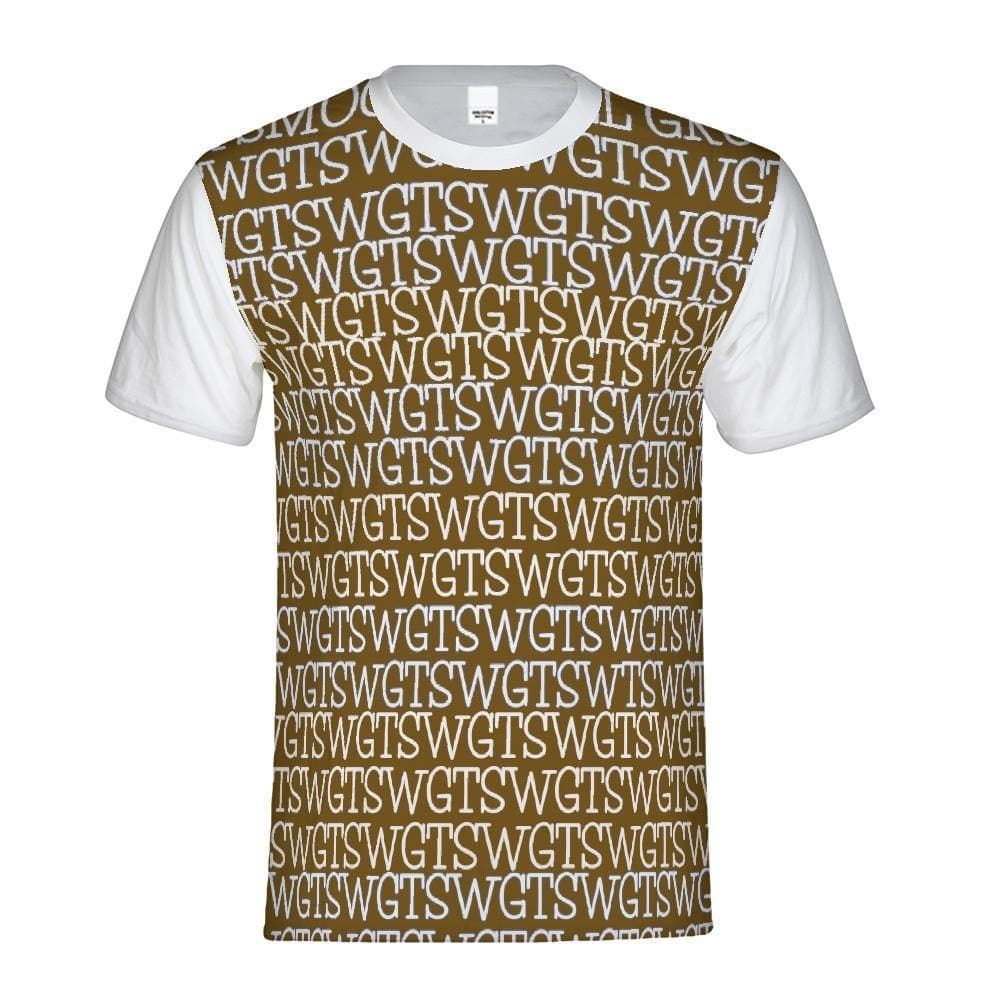 TSWG  (Tough Smooth Well Groomed) Repeat - Brown Men's Tee - Tie-Fly