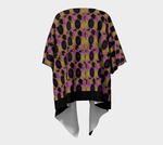 Abstract 3 Draped Kimono - Tie-Fly