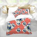 Load image into Gallery viewer, Floral II Home King Duvet Cover Set - Tie-Fly