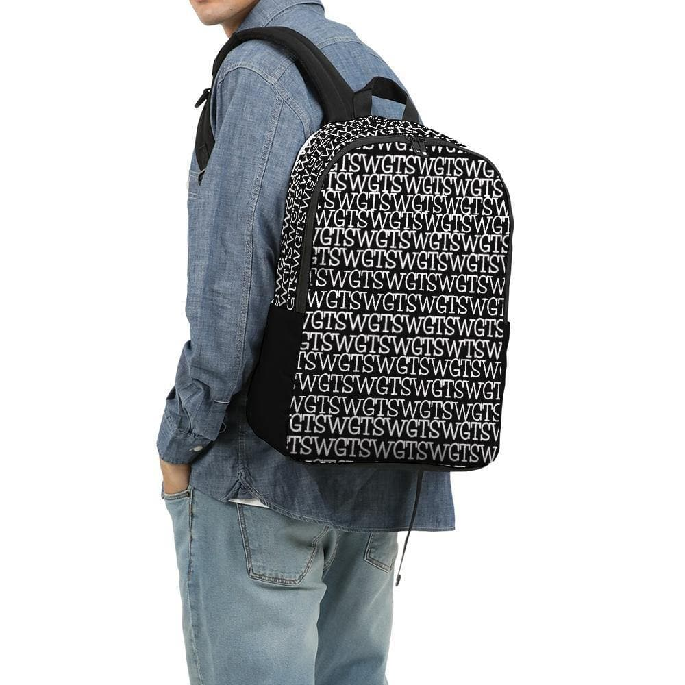 TSWG (Tough Smooth Well Groomed) Repeat - Black Large Backpack - Tie-Fly