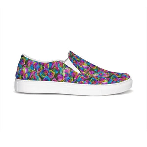 Psy-Rose Slip-On Canvas Shoe - Tie-Fly