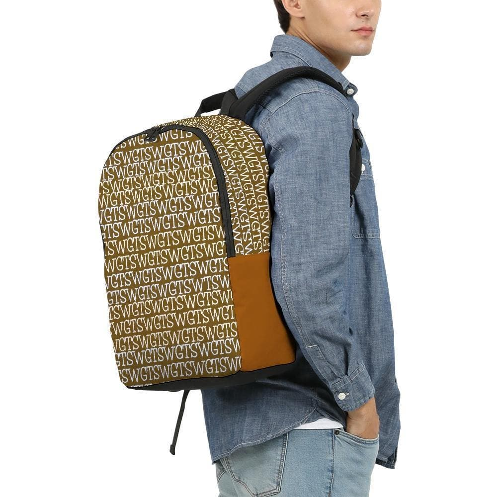 TSWG  (Tough Smooth Well Groomed) Repeat - Brown Large Backpack - Tie-Fly