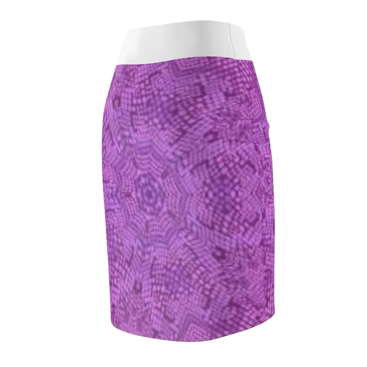 Royal Snakeskin Pencil Skirt Voluptuous (+) SIze Available - Tie-Fly
