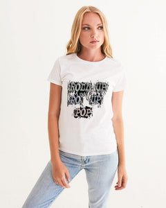 Roll Up Po' Up Pop News Edition Women's Graphic Tee - Tie-Fly