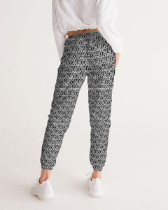 Petty Repeat - Black  Women's Track Pants - Tie-Fly