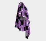 Load image into Gallery viewer, Royal Geo 2 Draped Kimono - Tie-Fly