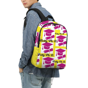 Petty Ph.D. Cap & Degree Large Backpack - Tie-Fly
