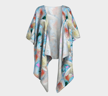 Load image into Gallery viewer, Midnight Floral Draped Kimono - Tie-Fly
