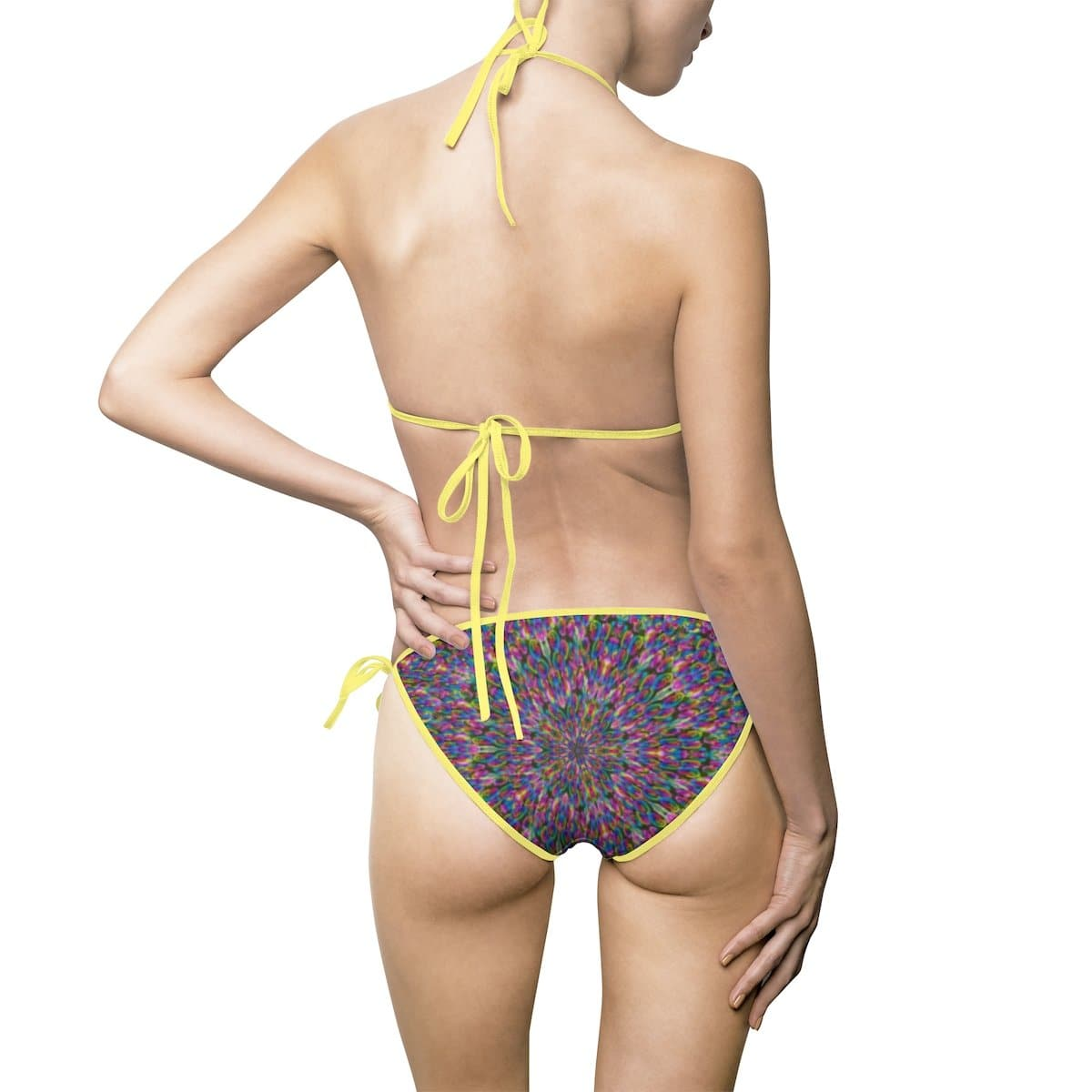 Psygyro Women's Bikini Swimsuit Volutpuous (+) Size Available - TFC&H Co.