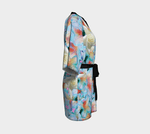 Load image into Gallery viewer, Midnight Floral Kimono Robe - Tie-Fly