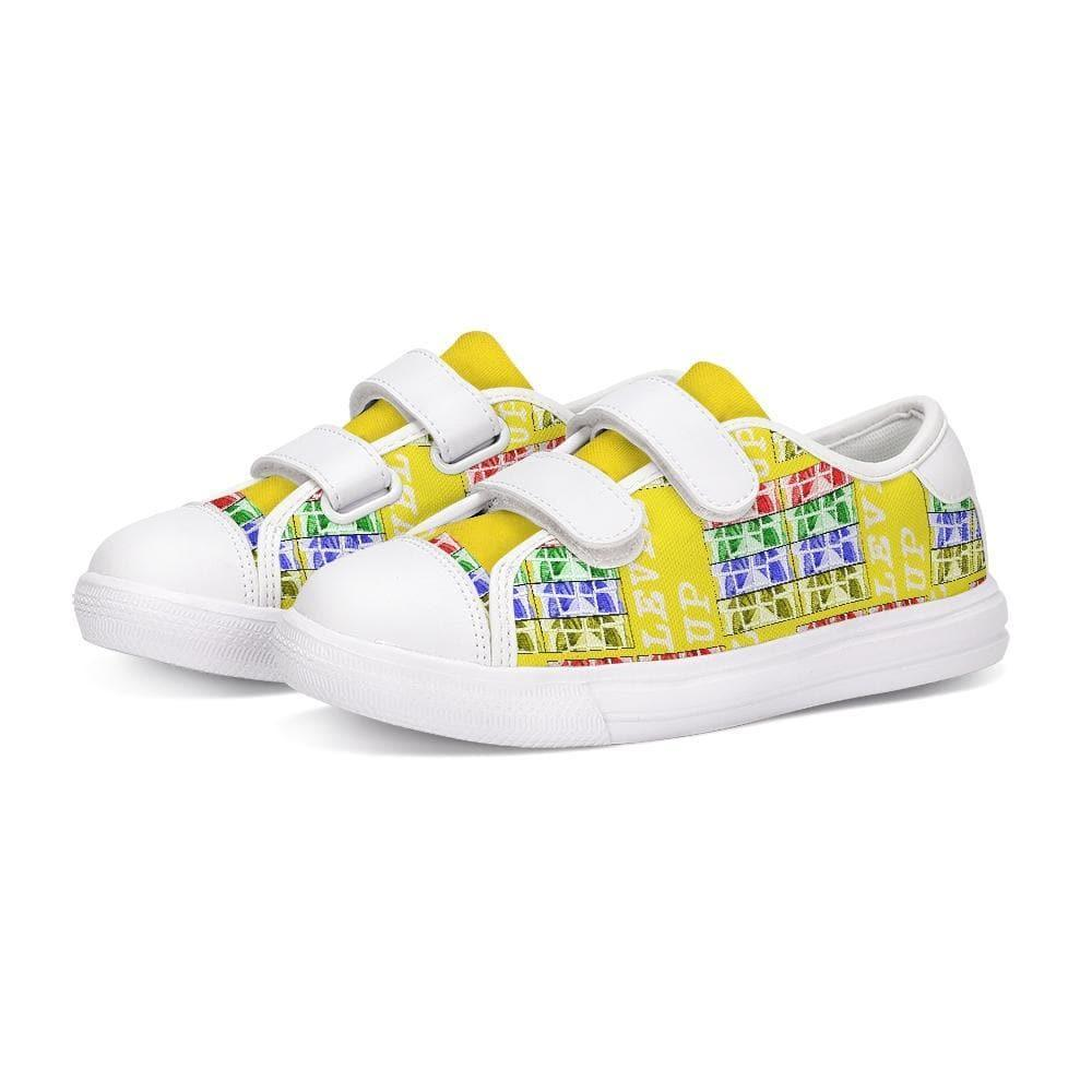 Teacher's Pet: Level Up Kids Kids Velcro Sneaker, shoes -tie - fly
