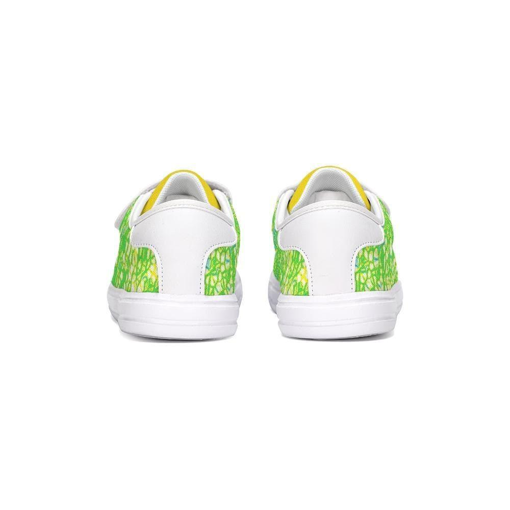Teacher's Pet Collection: Royal Pallette Kids Velcro Sneaker - Tie-Fly