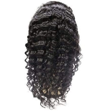 Load image into Gallery viewer, Deep Wave Front Lace Wig 100% Human Hair - Tie-Fly
