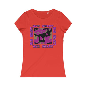 War Ready Women's Organic Tee - Tie-Fly