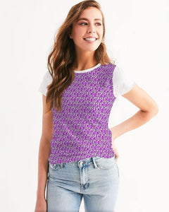 Petty Repeat - Purple Women's Tee - Tie-Fly
