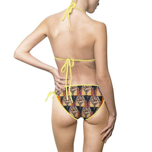 Diamond Collection: Diamonds in The Sun Bikini Swimsuit Voluptuous (+) Size Available - Tie-Fly