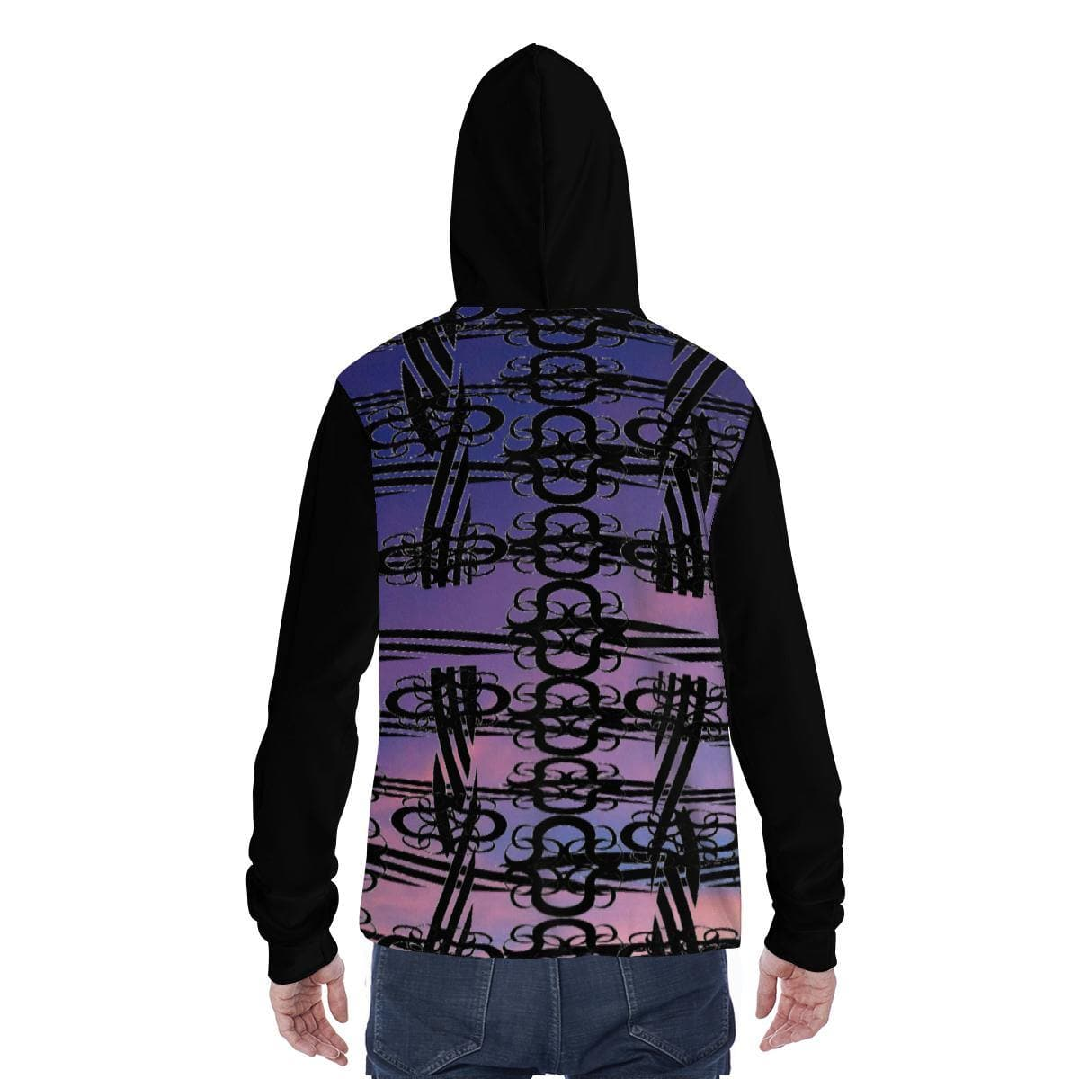 Midnight Unisex Hoodie w/ Built in Mask