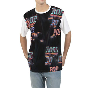 Roll Up Po' Up Pop Rave Edition Men's Tee, cloth -tie - fly