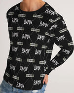 Load image into Gallery viewer, B.A.M.N (By Any Means Necessary) Men's Long Sleeve Tee - Tie-Fly
