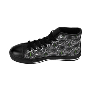 TSWG (Tough Smooth Well Groomed) Black Ice Men's High-top Sneakers - Tie-Fly