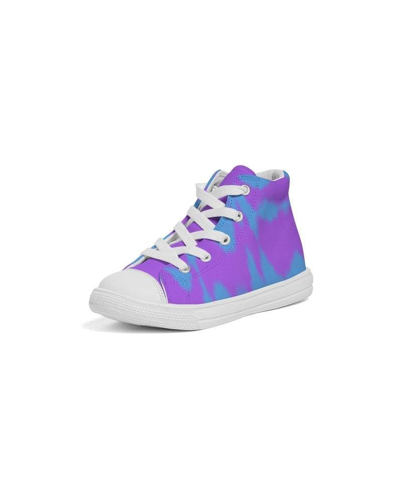 Reflect  Kids Hightop Canvas Shoe - Tie-Fly