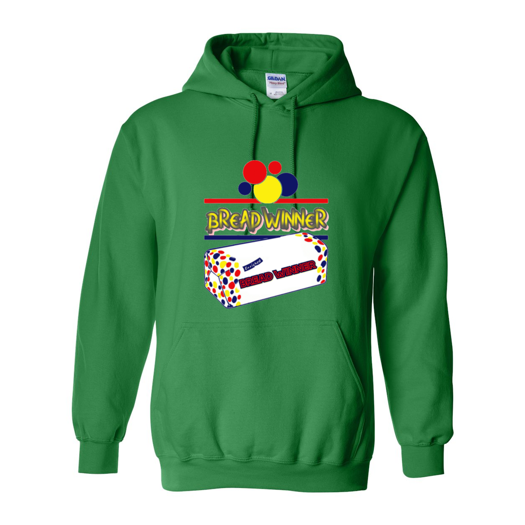 Bread Winner Heavy Blend Hooded Sweatshirt - Tie-Fly
