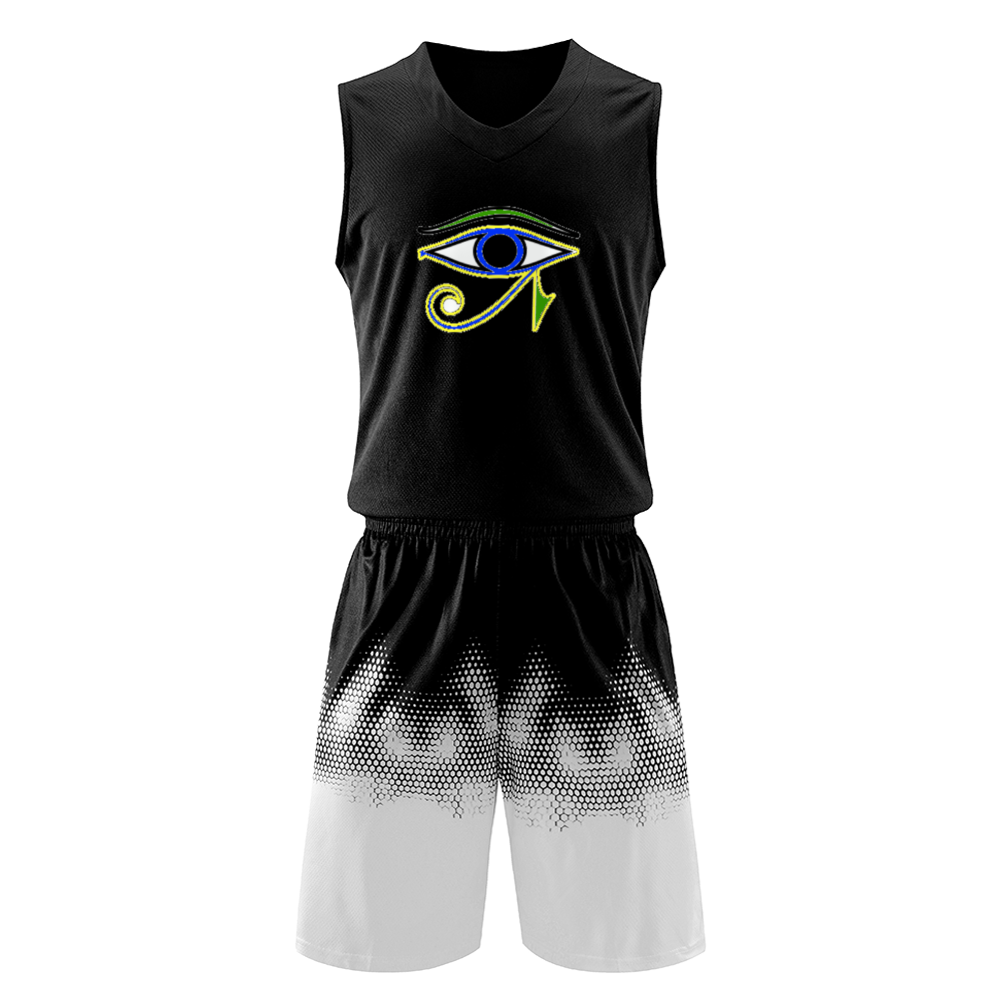 Power Clothing Men's Basketball Jerseys & Shorts - Tie-Fly