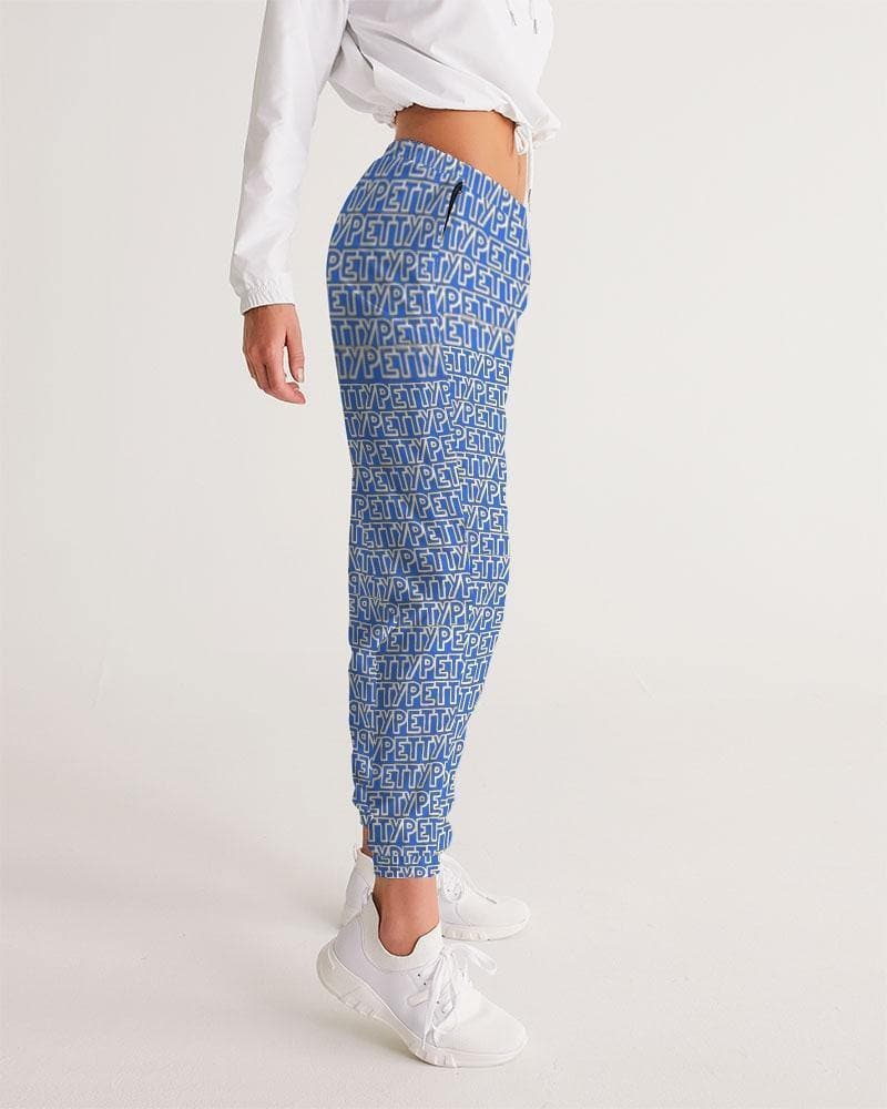 Petty Repeat - Blue Women's Track Pants - Tie-Fly