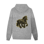 Load image into Gallery viewer, Stallion Clothing Men's Back Print Hoodie w/ Pocket - Tie-Fly