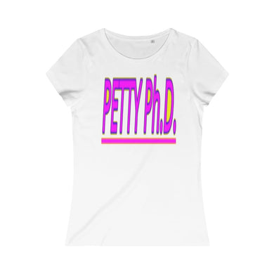 Petty Ph.d. Women's Organic Tee, T-Shirt -tie - fly