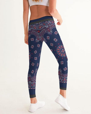 Bandana Branded Women's Yoga Pants - Tie-Fly