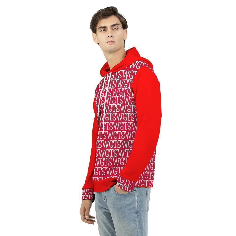 TSWG Repeat - Red Men's Hoodie - Tie-Fly