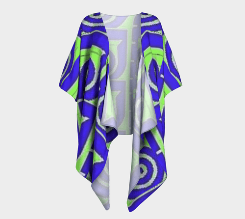 Well Seasoned Draped Kimono