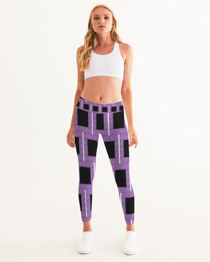 Royal Geo 2 Mini Women's Yoga Pant - Tie-Fly