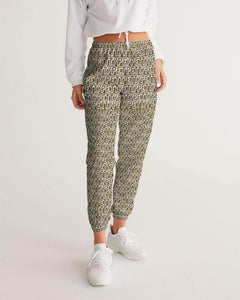 Petty Repeat - Brown  Women's Track Pants - Tie-Fly