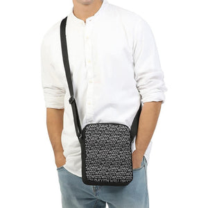 TSWG (Tough Smooth Well Groomed) Repeat - Black Messenger Pouch - Tie-Fly