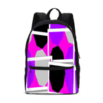 Load image into Gallery viewer, Royal Spread  Small Canvas Backpack - Tie-Fly
