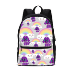 Load image into Gallery viewer, Bec's Uni-Dog Small Canvas Backpack - Tie-Fly