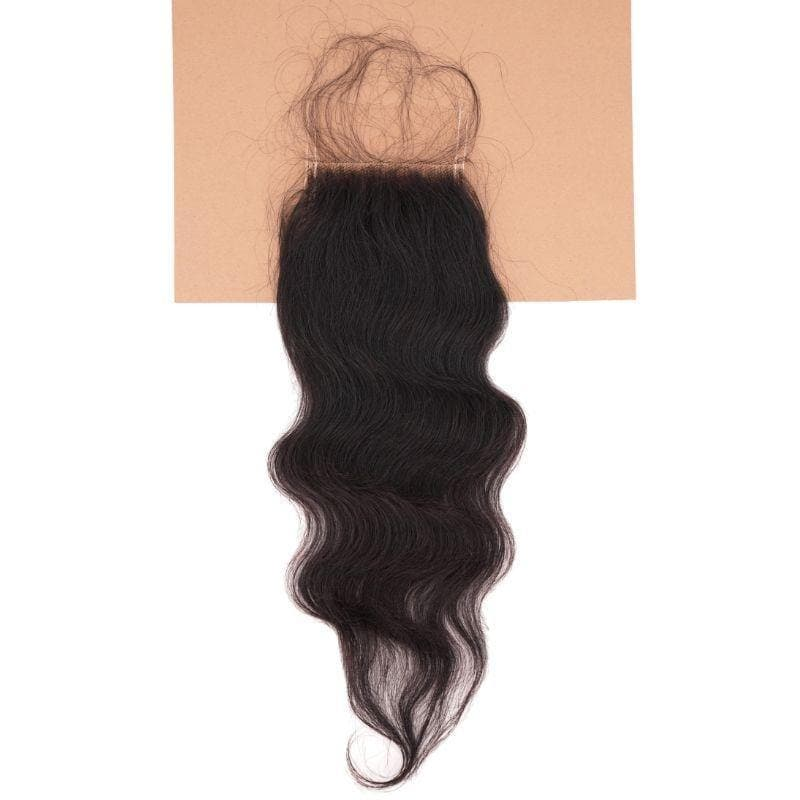 Raw Indian Curly Closure - Tie-Fly