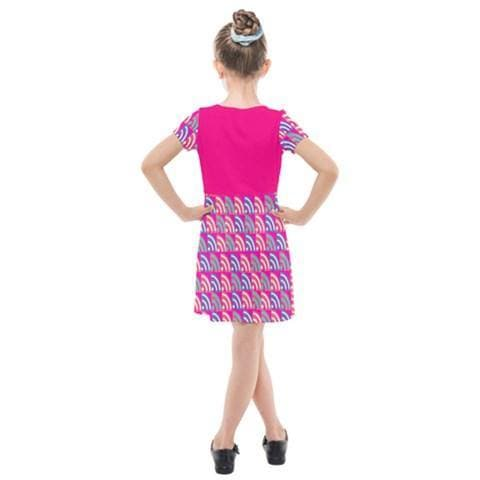 Langis Kids Cross Web Dress - Tie-Fly