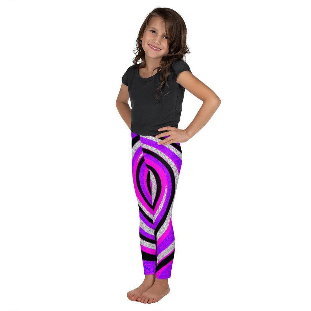 Teacher's Pet Royal Swirl Kid's Leggings - TFC&H Co.