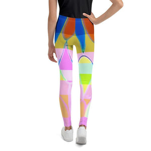 Northern Lights Youth Leggings - Tie-Fly