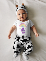 Load image into Gallery viewer, Bec's Uni-Dog Infant Gerber Onesies - Tie-Fly