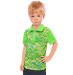 Royal Pallette Kid's Polo - Tie-Fly